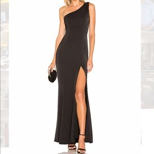 Lovers + Friends Black Gown Size M
